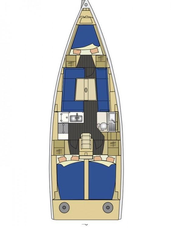 Rental yacht Croatia - Elan Elan 350 Performance - 3 cab. on SamBoat
