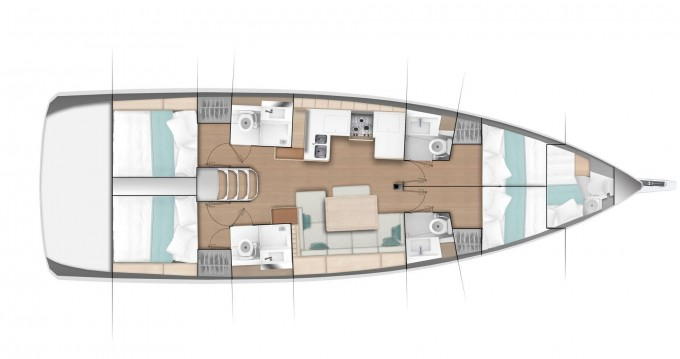 Jeanneau Sun Odyssey 490 between personal and professional Nettuno