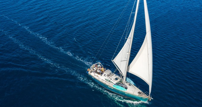 Jeanneau Sun Odyssey 54 DS between personal and professional Gouvia