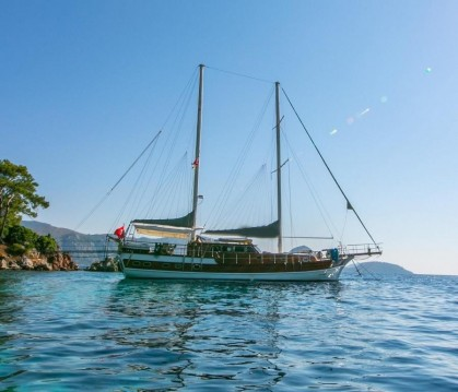 Hire Sailboat with or without skipper Custom Built Bodrum