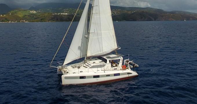 Hire Catamaran with or without skipper Dean Les Trois Îlets