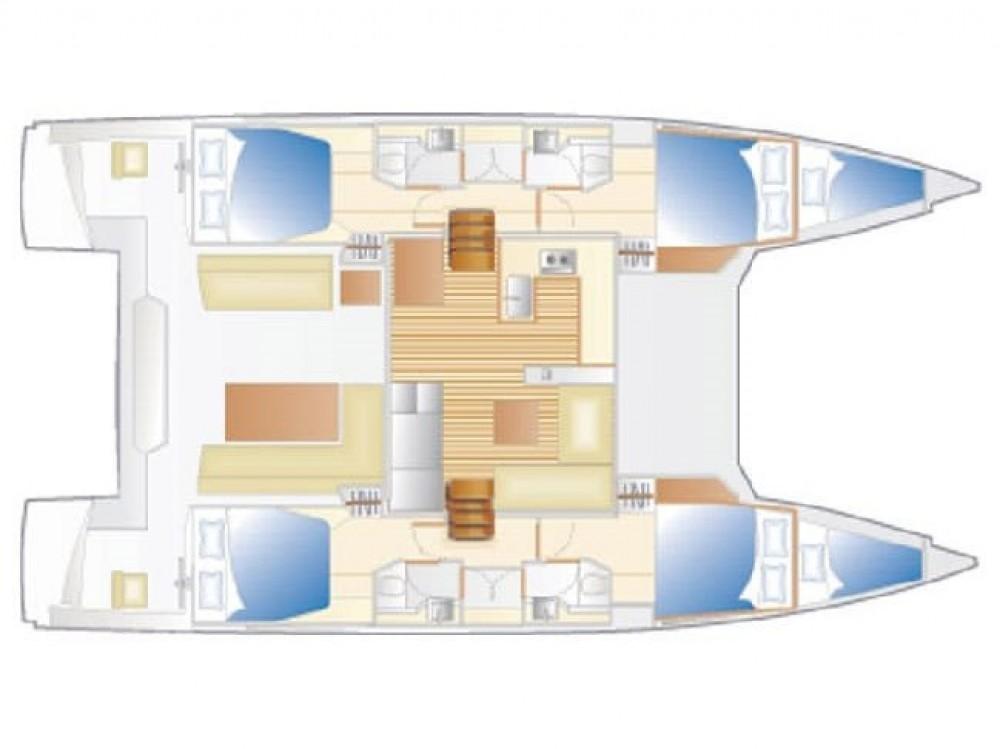 Rental yacht Alzachèna/Arzachena - Nautitech Nautitech 46 Fly on SamBoat