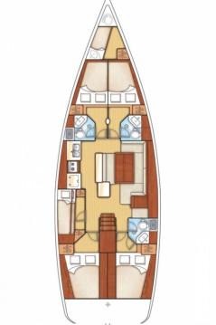 Boat rental Seget Donji cheap Oceanis 50 - 5 + 1 cab.