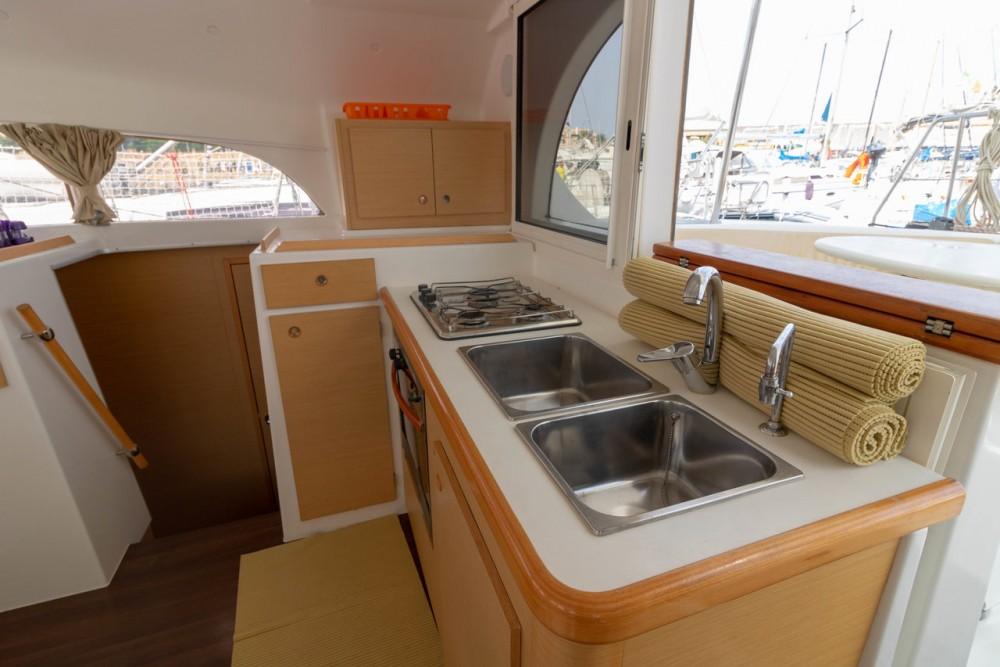 Boat rental Marsala cheap Lagoon 380