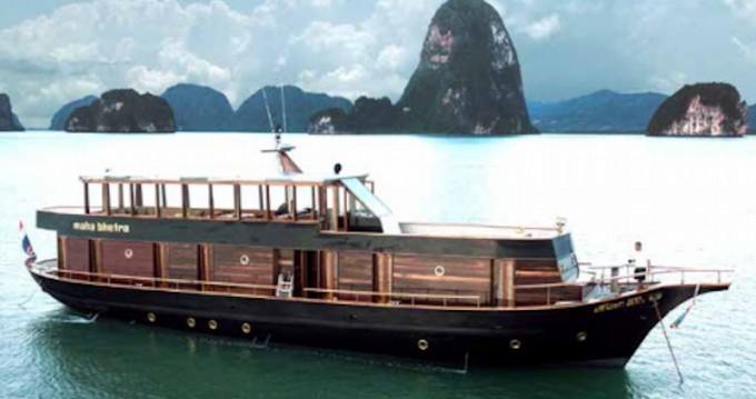 Rent a  Wooden motor yacht Koh Kaeo