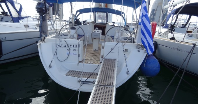 Boat rental Alimos cheap Sun Odyssey 45.2