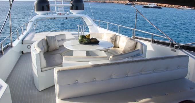 Boat rental Ibiza Island cheap Baglietto 24