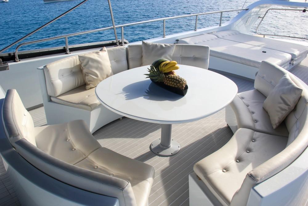Boat rental Ibiza cheap Baglietto 24