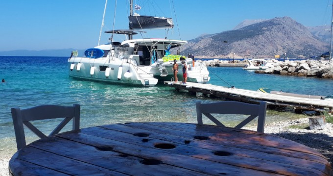 Hire Catamaran with or without skipper Lagoon Municipal Unit of Lefkada
