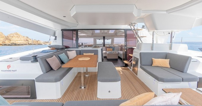 Rental Catamaran in Tortola -  Elba 45