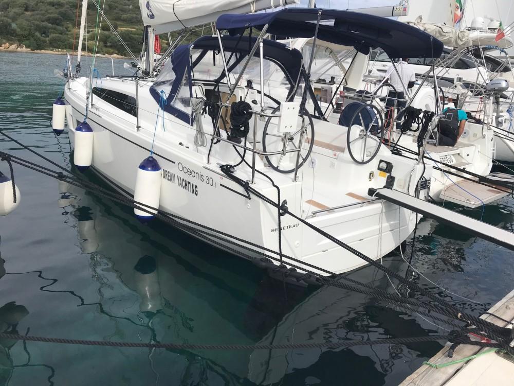 Boat rental Olbia cheap Oceanis 30.1