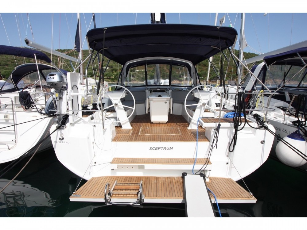 Bénéteau Oceanis 46.1 - 5 cab. between personal and professional Olbia