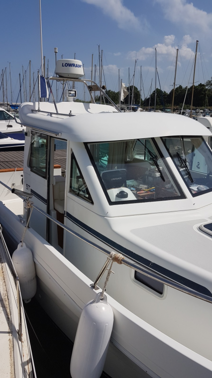St Boat St boat 840 WA between personal and professional Santa-Maria-Poggio