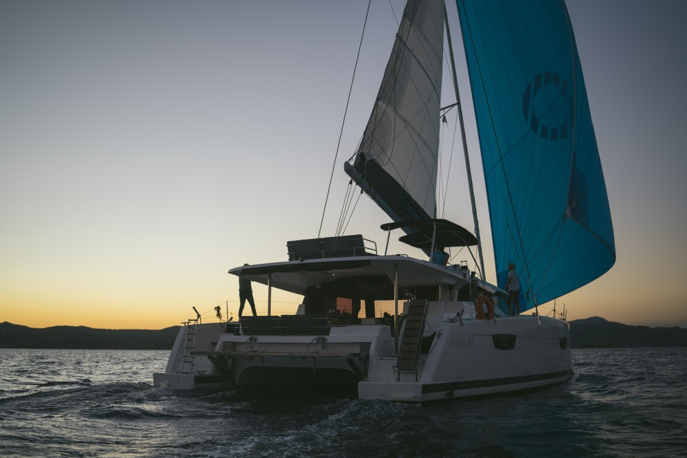 Fountaine Pajot Fountaine Pajot Saona 47 (Quintet) - 5 + 1 cab. between personal and professional Peloponnese