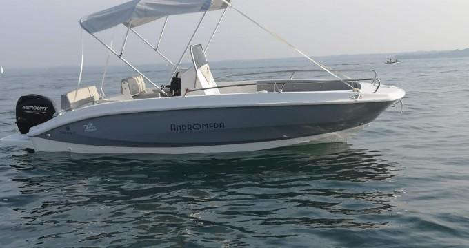 Boat rental Moniga del Garda cheap andromeda 580