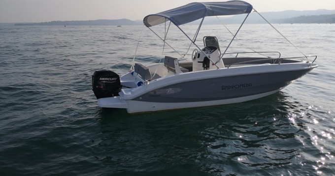 Rental Motorboat Orizzonti with a permit