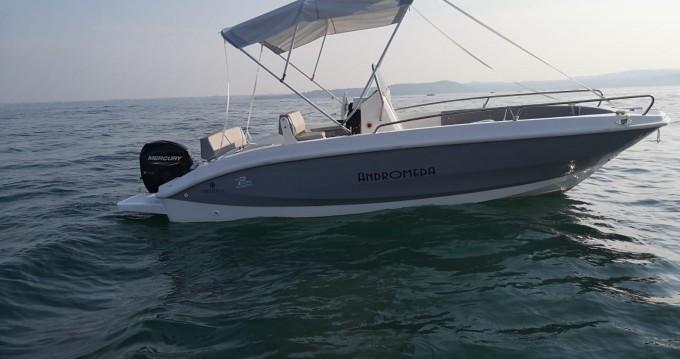 Boat rental Orizzonti andromeda 580 in Moniga del Garda on Samboat