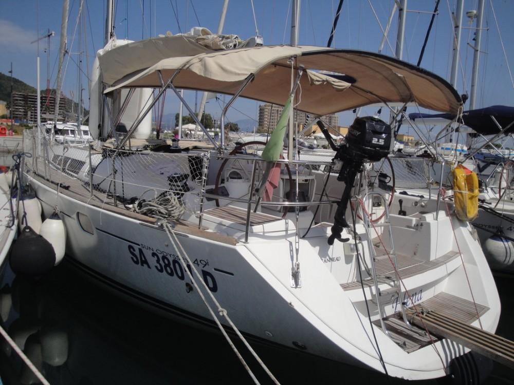 Rent a Jeanneau Sun Odyssey 49i Campania