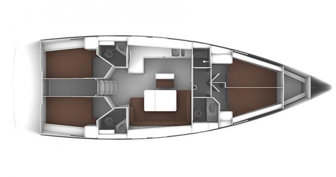 Rental Sailboat in Athens - Bavaria Cruiser 51