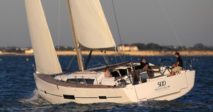 Rental Sailboat in Saint Martin (France) - Dufour Dufour 500 Grand Large