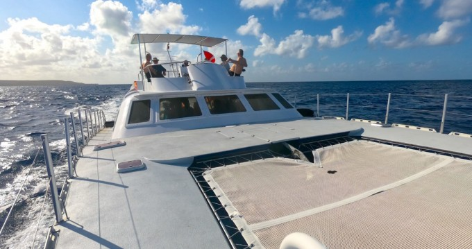 Hire Catamaran with or without skipper Brooks Marine Willemstad