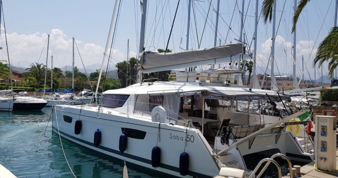 Fountaine Pajot Saba 50 between personal and professional Marina di Portorosa