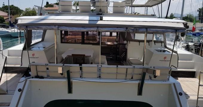 Rent a Fountaine Pajot Saba 50 Marina di Portorosa