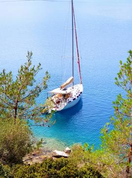 Rental yacht Bodrum - Bénéteau Cyclades 434 on SamBoat