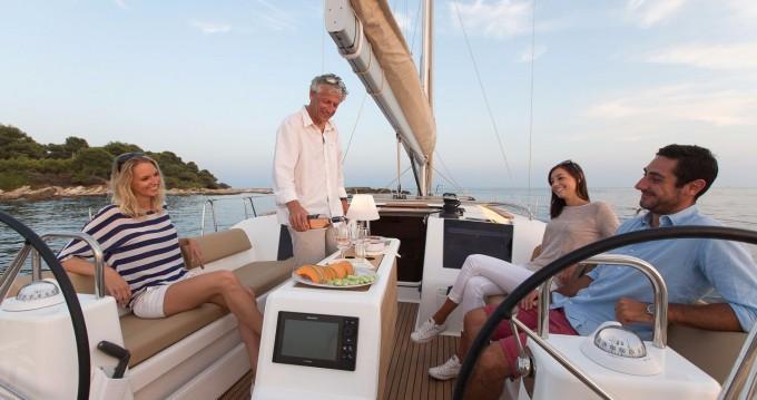 Boat rental Saint Martin (France) cheap Dufour 460 Grand Large