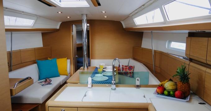 Boat rental Jeanneau Sun Odyssey 389 in Le Marin on Samboat
