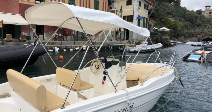Motorboat for rent Portofino at the best price