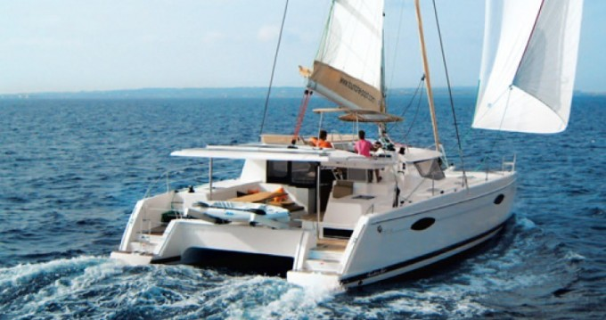 Helia 44 between personal and professional Martinique
