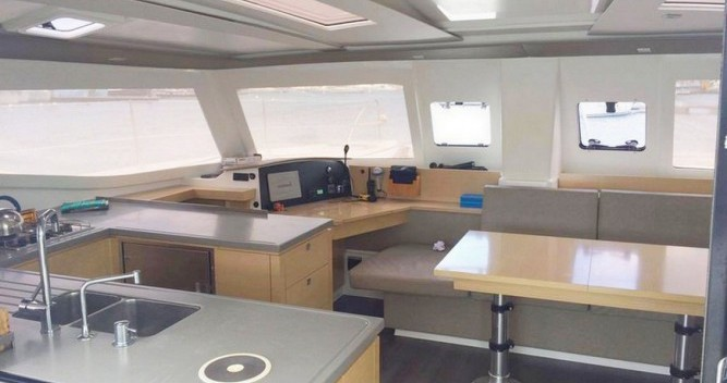 Rental Catamaran in Martinique - Helia 44
