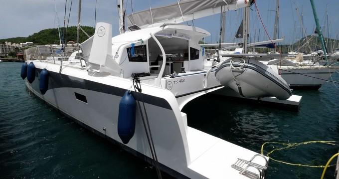 Rental yacht Le Marin - Marsaudon Composites TS 42 on SamBoat