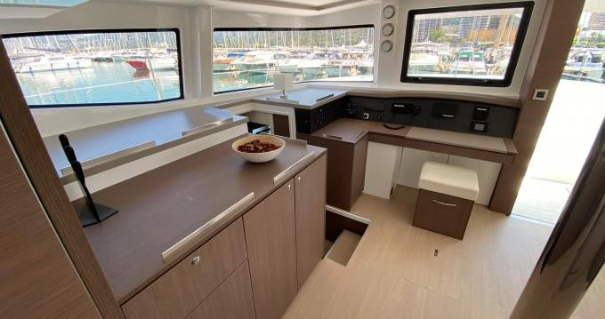 Bali Catamarans Bali 4.8 Alfa.bm between personal and professional Capo d'Orlando