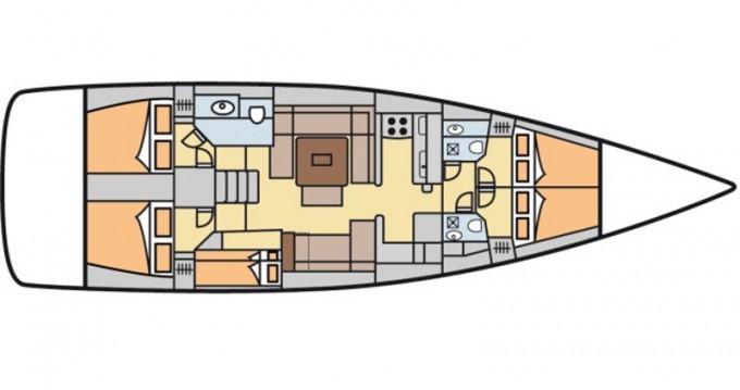 Rental Sailboat in Castellammare di Stabia - Dufour Dufour 500 Grand Large