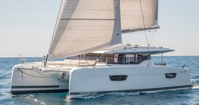 Boat rental Le Marin cheap Astrea 42