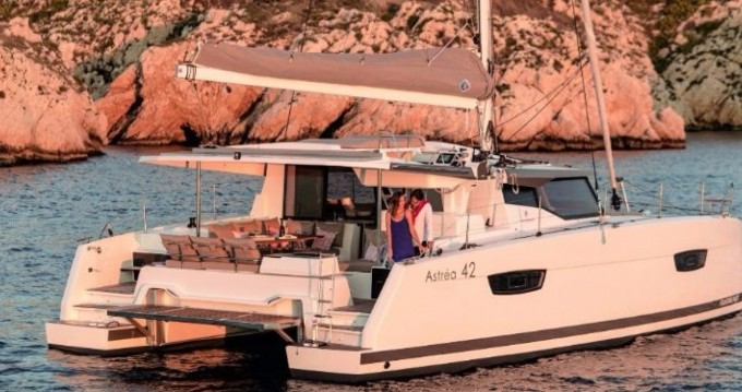 Boat rental Ibiza Island cheap Astrea 42