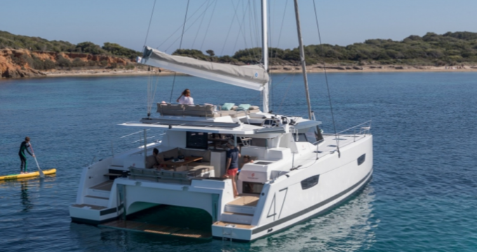 Fountaine Pajot Saona 47 between personal and professional