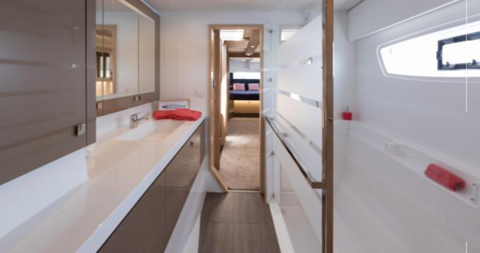 Rental yacht  - Fountaine Pajot Saona 47 on SamBoat