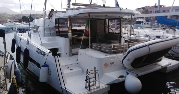 Catana Bali 4.3 between personal and professional Marina di Portorosa