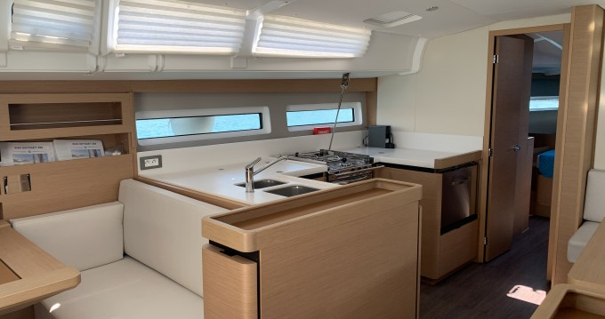 Jeanneau Sun Odyssey 490 between personal and professional Limassol