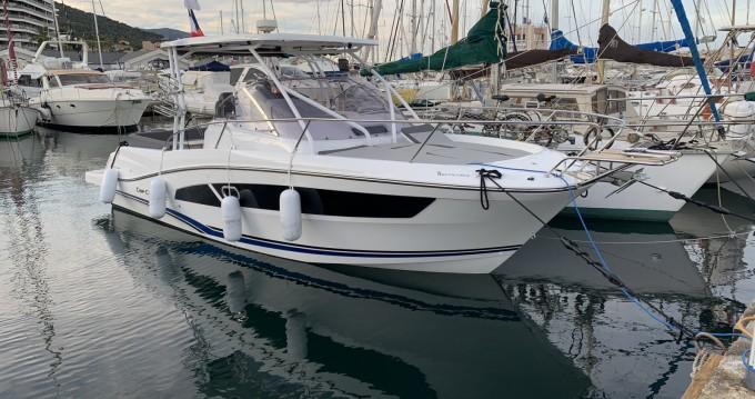 Rental Motorboat in Bastia - Jeanneau Cap Camarat 9.0 WA