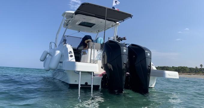 Boat rental Jeanneau Cap Camarat 9.0 WA in Bastia on Samboat