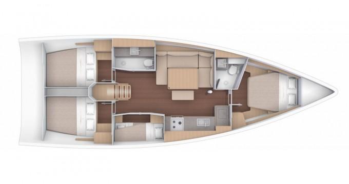 Rental yacht Furnari - Dufour Dufour 430 Grand Large on SamBoat