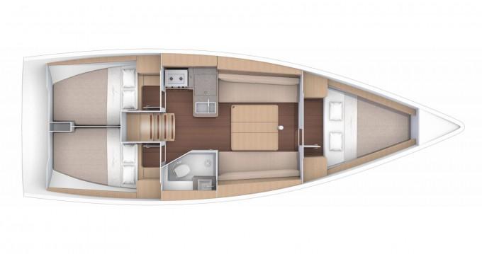 Boat rental Dufour Dufour 360 Grand Large in Marina di Portorosa on Samboat