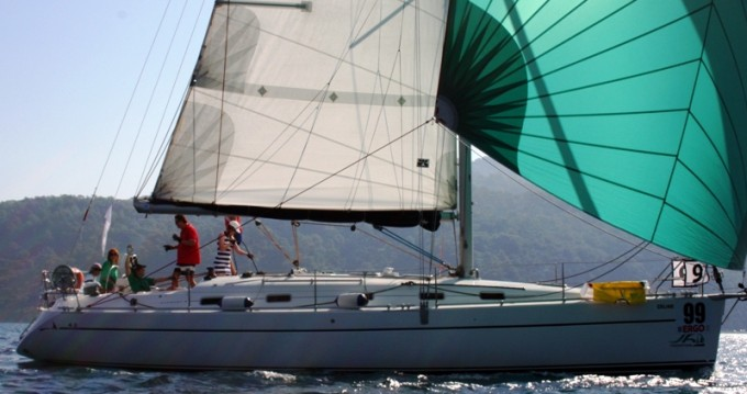 Hire Sailboat with or without skipper Poncin Yachts Marmaris
