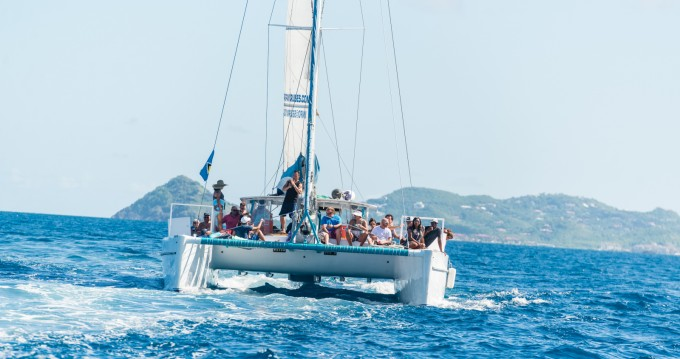Rental Catamaran in Rodney Bay - custom build 52ft Power, Sailing Catamaran