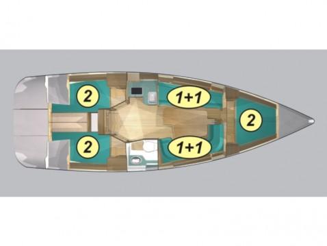 Boat rental Northman Maxus 33.1 RS Prestige + in Węgorzewo on Samboat