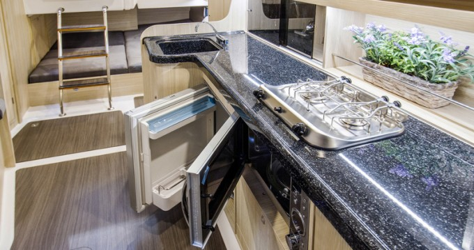 Rental yacht Wilkasy - Northman Nexus Revo 870 Prestige +/2cab on SamBoat
